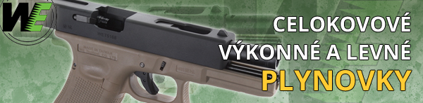 Airsoft GBB plynovky WE Tech