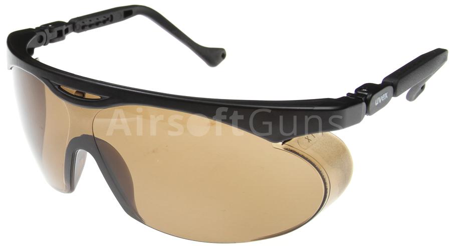 e389e1f94 Ochranné okuliare AČR vz. 2001, tmavé, Uvex | AirsoftGuns